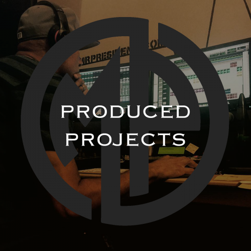 PRODUCED PROJECTS - DJ MR PRESIDENT